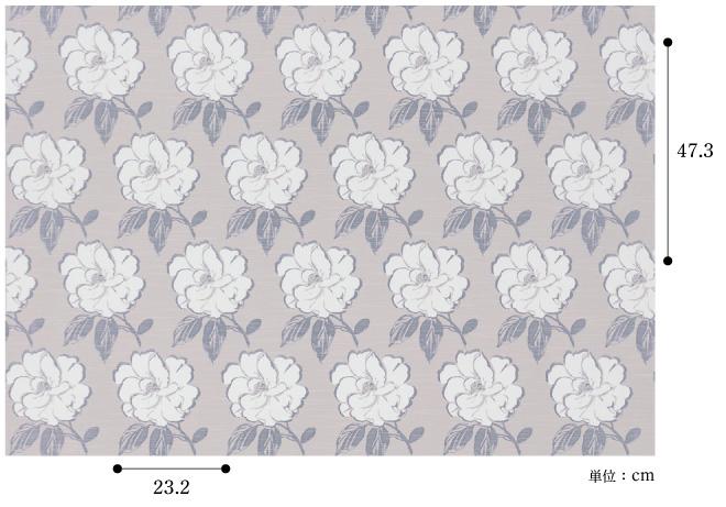 【ドレープ】FUJIE TEXTILE(フジエテキスタイル)/WORLD FABRICS(ワールドファブリックス)/WF6133MV(コサージュ)