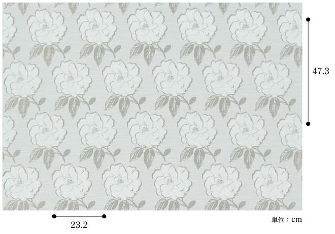 【ドレープ】FUJIE TEXTILE(フジエテキスタイル)/WORLD FABRICS(ワールドファブリックス)/WF6133NL(コサージュ)