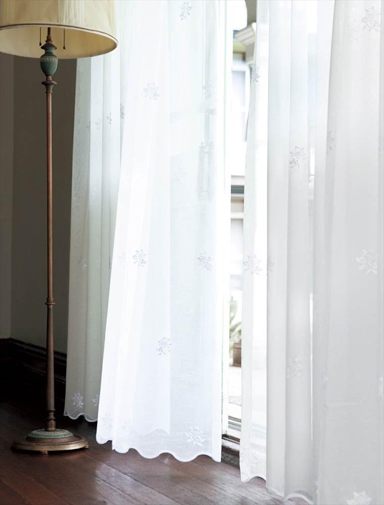 【レース】KAWASHIMA SELKON(川島織物セルコン)/Filo(フィーロ)/FF1054(ケンティッシュローズシアー)