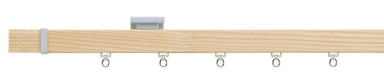 【レール】TOSO(トーソー)/curtain rail(カーテンレール)/cortinas-nwa210(コルティナ(シングル)ナチュラルウッド/Aセット2.1m)