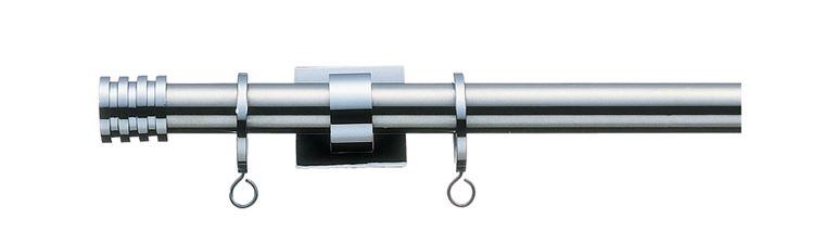 【レール】TOSO(トーソー)/curtain rail(カーテンレール)/gracefinos-ssc310(グレイスフィーノ19(シングル)ステンシルバー/Cセット3.1m)